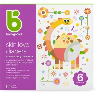 Babyganics Diapers Club Pack - Size 6 (50ct)