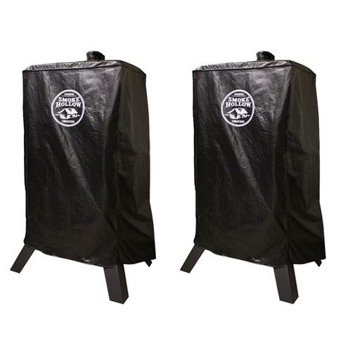 Smoke Hollow Weather Resistant Polyester 44 Inch BBQ Smoker Cover (2 Pack) - image 1 of 5