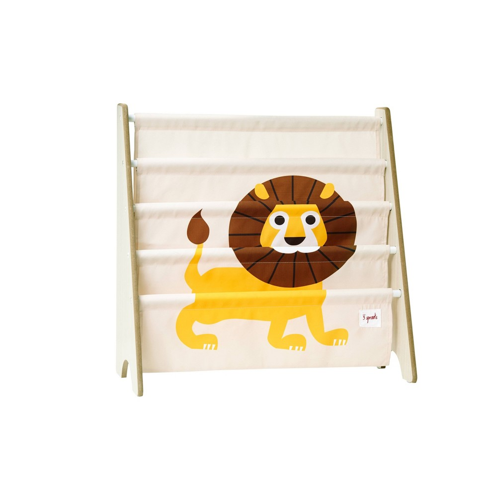 Image of Lion Book Rack - 3 Sprouts