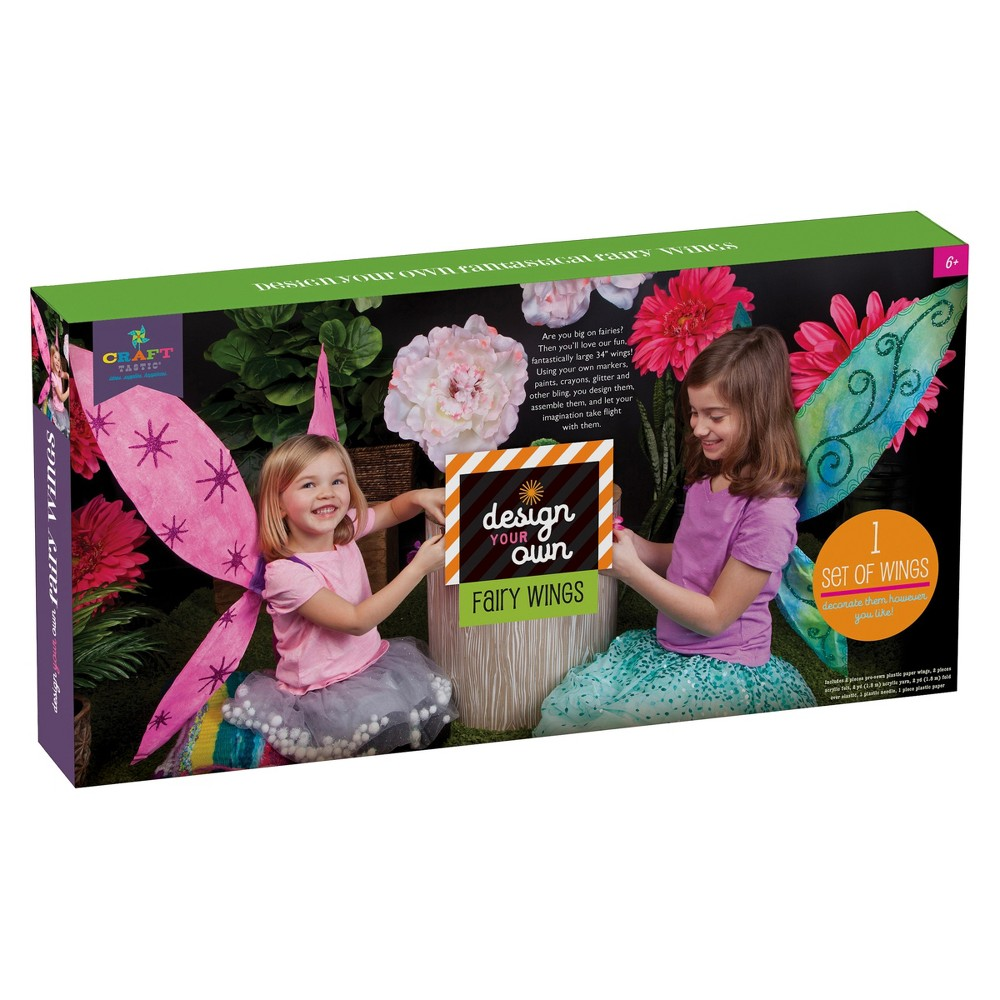 Craftastic Design Your Own Fairy Wings, Size: Large