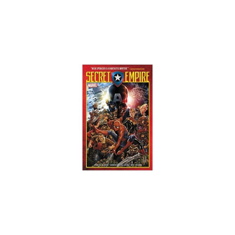 Secret Empire - (Secret Empire) by Nick Spencer (Paperback)