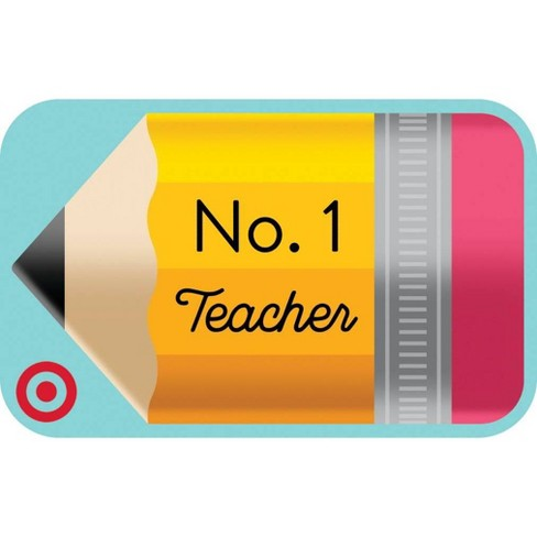 Teacher Pencil (English) $10 GiftCard - image 1 of 1