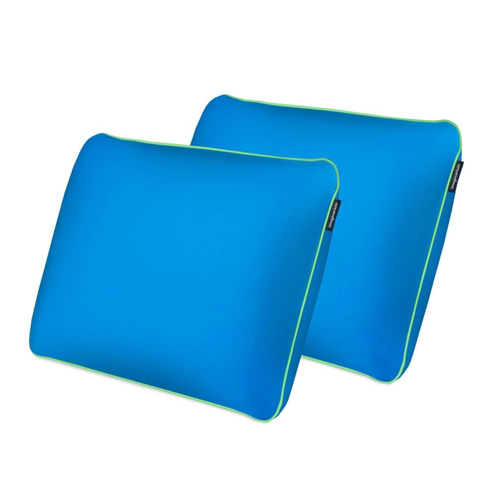 Standard 2pk Bed Pillow Blue Imaginarium