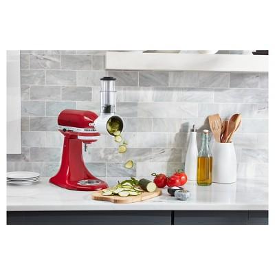 kitchenaid fresh prep slicer shredder attachment white ksmvsa target rh target com