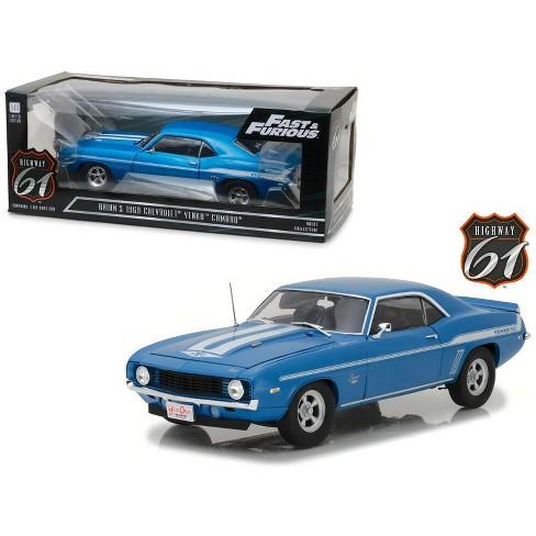 Brian's 1969 Chevrolet Yenko Camaro 2 Fast 2 Furious Movie 2003 Driven by Paul Walker Ltd Ed 1/18 Model Highway 61 - image 1 of 4