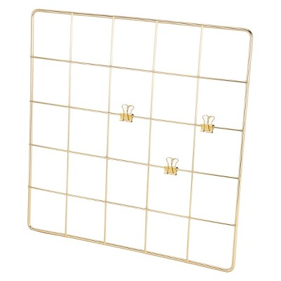 Grid Wall Organizer with Clips - Threshold™