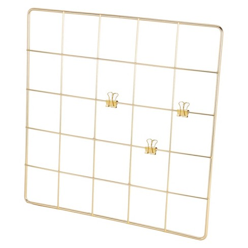 Wall Grid, Gold - Threshold™ - image 1 of 4