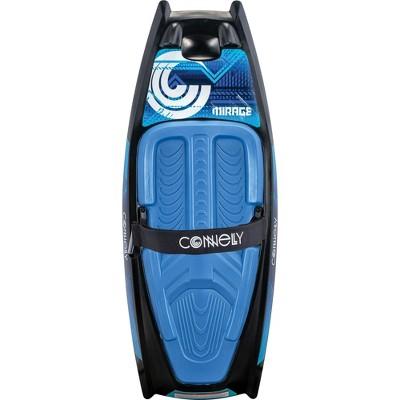 """CWB Mirage Heavy Duty Soft Top Water Sports 52"""" Kneeboard w/ Handle Hook, Blue"""