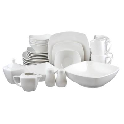 Gibson Home 39pc Zen Buffetware Dinnerware Set