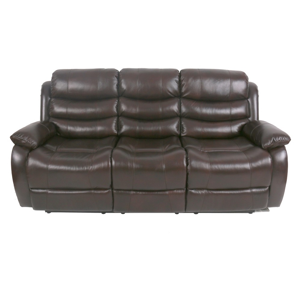 Rayburn Sofa Dark Walnut (Brown) - Relax A Lounger