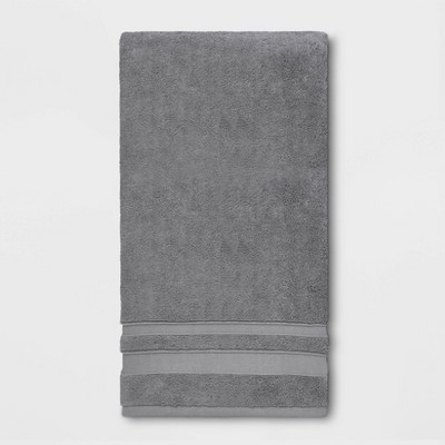 Performance Bath Sheet Dark Gray - Threshold™
