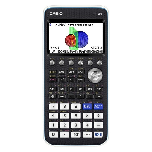 Casio High-Resolution 3D Color Graphing Calculator - Black (FX-CG50) - image 1 of 2
