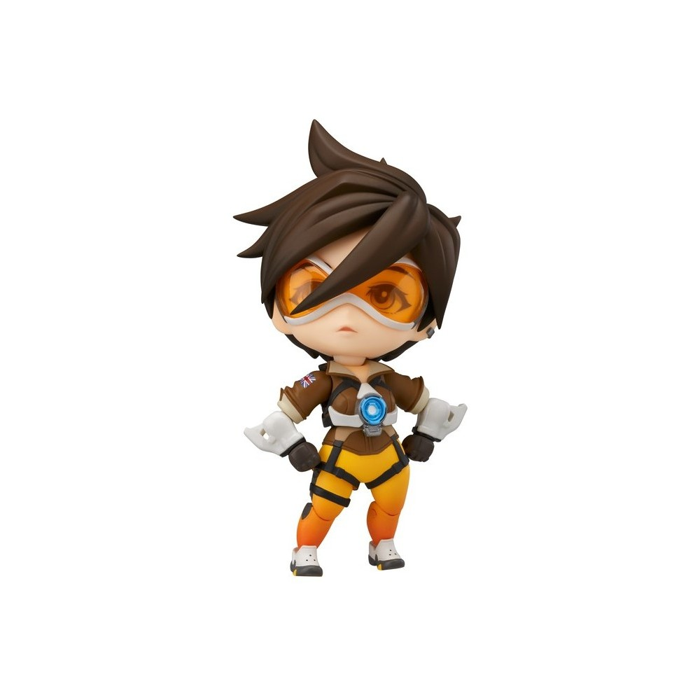Nendoroid Overwatch Tracer Classic Skin Edition Figure, Multi-Colored