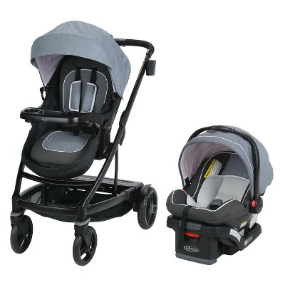 Graco Uno2Duo Travel System - Hazel