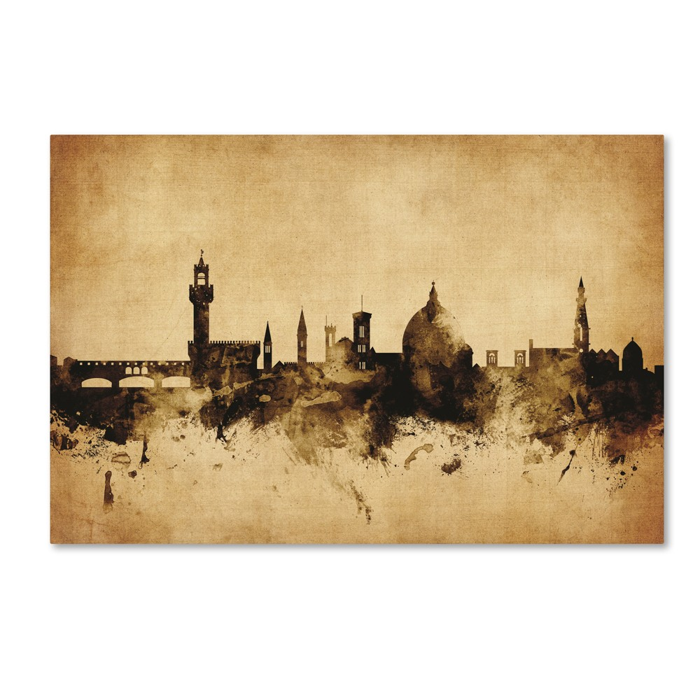 Michael Tompsett Florence Italy Skyline Canvas Art 16