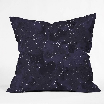 """16""""x16"""" Wagner Campelo Sidereal Currant Throw Pillow Purple - Deny Designs"""