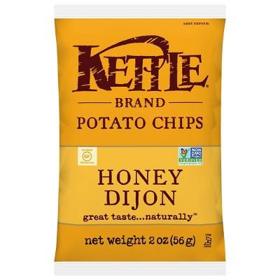 Kettle Café Honey Dijon Potato Chips - 2oz