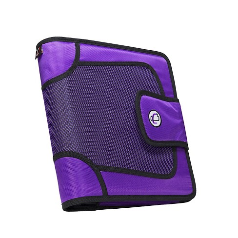Case-it The Open Tab Binder with Tab File, O-Ring, 2 Inches, Purple - image 1 of 3