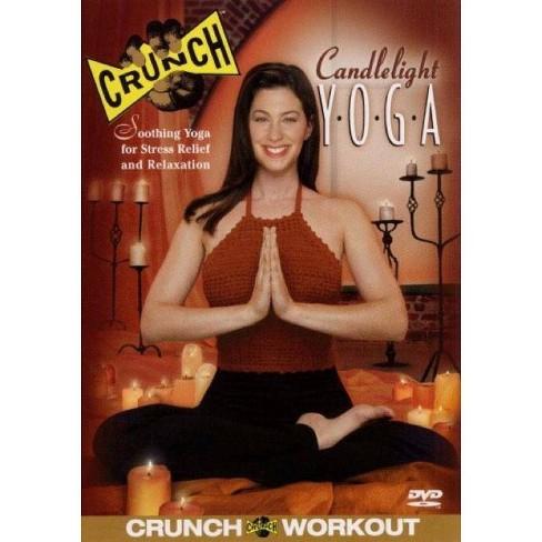 Crunch: Candlelight Yoga (DVD) - image 1 of 1