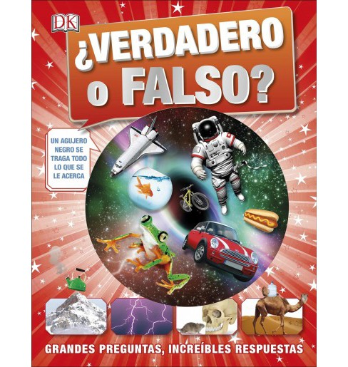 ¿Verdadero o Falso? / True or False -  Reprint by Andrea Mills (Hardcover) - image 1 of 1
