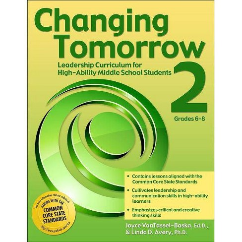 Changing Tomorrow 2, Grades 6-8 - by  Joyce VanTassel-Baska & Linda D Avery (Paperback) - image 1 of 1