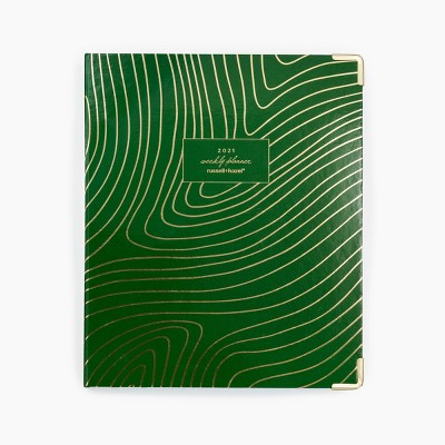 2021 Planner Binder Kit Green - russell+hazel