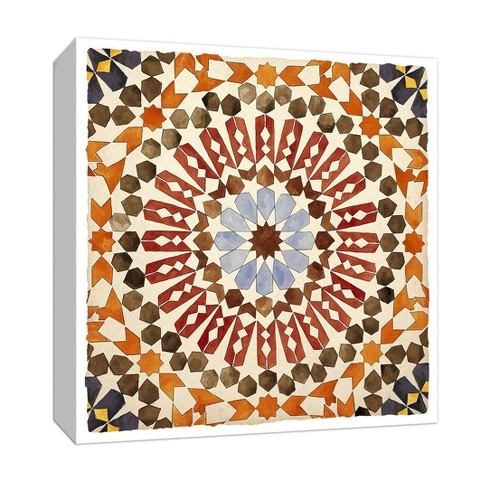Summer Mandala Gallery Wrapped Canvas - PTM Images - image 1 of 2