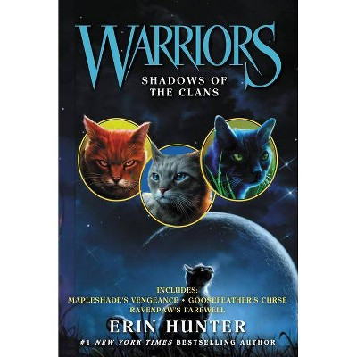 Warriors: Shadows of the Clans - (Warriors Novella) by  Erin Hunter (Paperback)