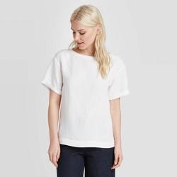 Women's Short Sleeve Linen Cuff T-Shirt - A New Day™