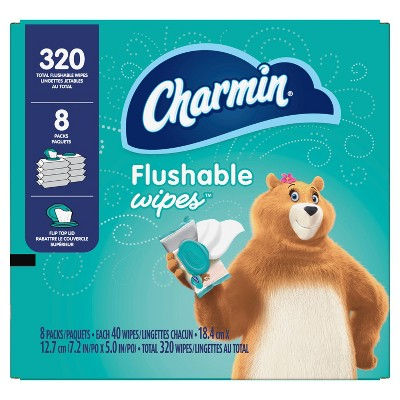Charmin Flushable Wipes