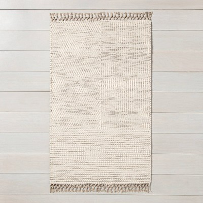 3' x 5' Area Rug Oatmeal Heather - Hearth & Hand™ with Magnolia