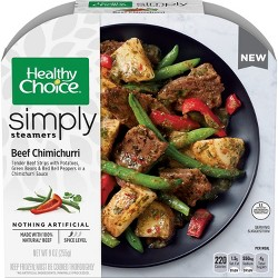 Healthy Choice Beef Chimichurri Frozen Simply Steamers - 9oz