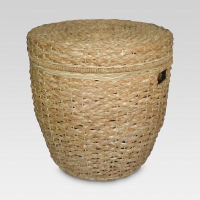 Seagrass Lidded Round Storage Basket - Threshold™