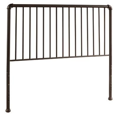 Full Brandi Metal Headboard without Bed Frame Bronze - Hillsdale Furniture