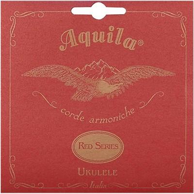 AQUILA Red Series 89U Baritone Ukulele Strings (DGBE Tuning)