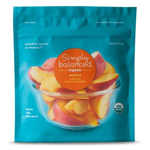 Organic Frozen Sliced Peaches - 10oz - Simply Balanced™ - image 1 of 1