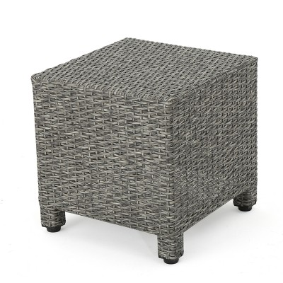 Puerta Wicker Side Table - Christopher Knight Home