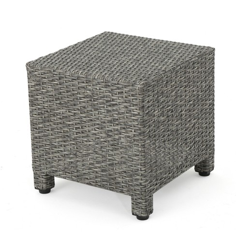 Puerta Wicker Side Table Christopher Knight Home Target