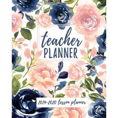 graphic relating to Teacher Plan Books referred to as Instructor Planner - (2019-2020 Lesson System Guides for Academics) by way of Majestic Notebooks (Paperback)