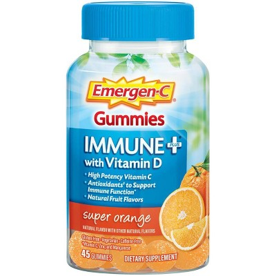 Cold & Flu: Emergen-C Immune+ Gummies