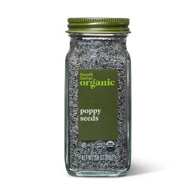 Organic Poppy Seeds - 2.4oz - Good & Gather™