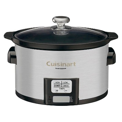 Cuisinart® 3.5 Qt. Programmable Slow Cooker -Stainless Steel Psc-350