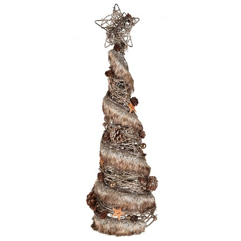 Gallerie II Large Fur Trim Tree - image 1 of 1