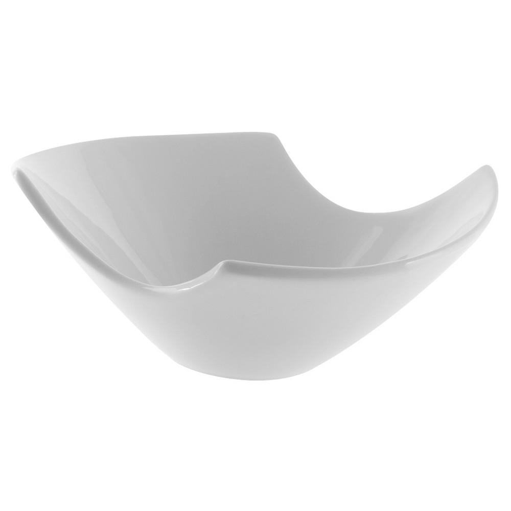 Image of 10 Strawberry Street Samurai Bowl Whittier 10oz White - Set of 4