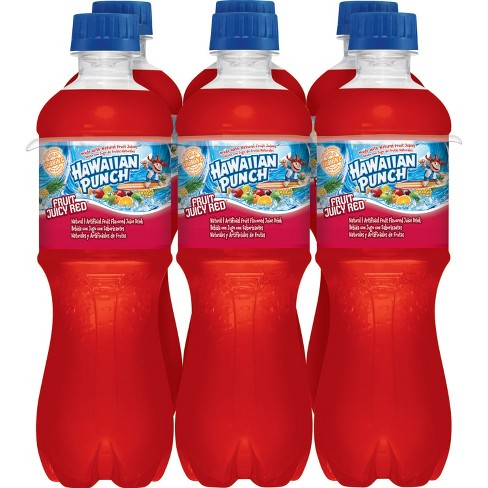 Hawaiian Punch Fruit Juicy Red - 6pk/0.5 L Bottles - image 1 of 4