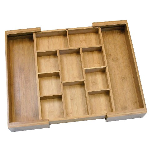 Lipper International Bamboo Expandable Organizer with Removable Dividers - image 1 of 4