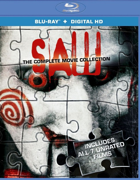 Saw: The Complete Movie Collection [3 Discs] [Blu-ray] - image 1 of 1