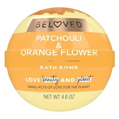 Beloved Patchouli & Orange Flower Bath Bomb - 1ct/3.9oz