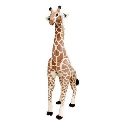 Melissa & Doug® Giant Giraffe - Lifelike Stuffed Animal (over 4 feet tall)