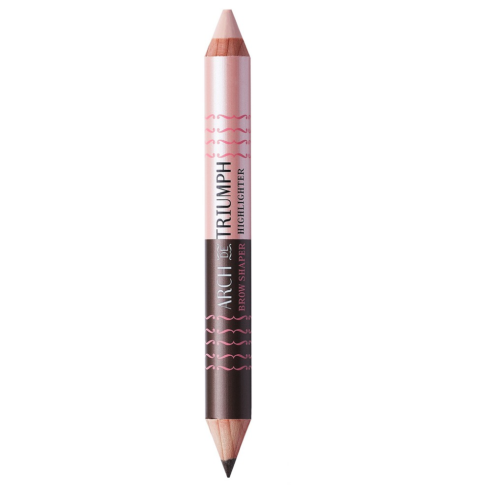 Soap & Glory Arch De Triumph Eyebrow Shaper & Highlighter .11 oz - Taupe/Buff (Brown/Buff)